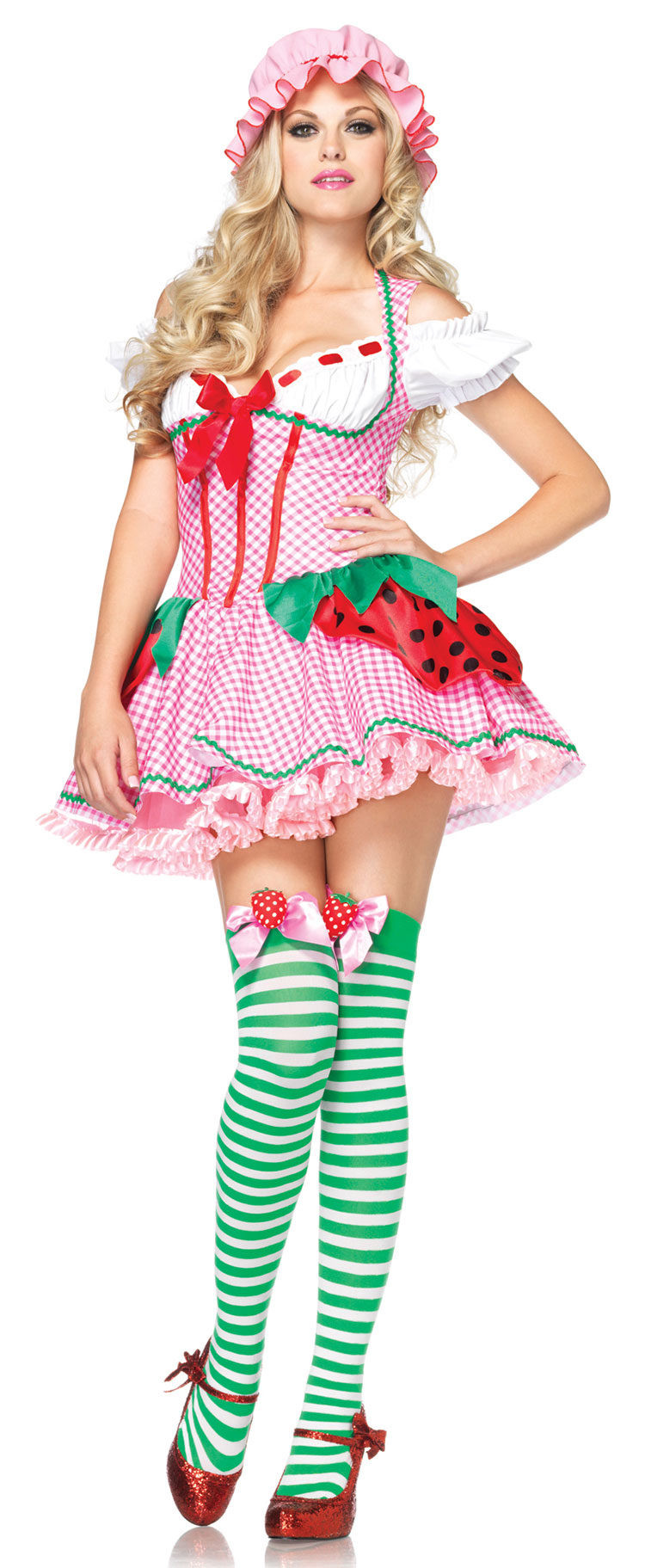 Strawberry Shortcake Haloween Costume  Strawberry Beauty Adult Costume Mr Costumes