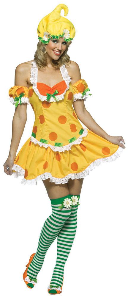Strawberry Shortcake Haloween Costume  Lemon Meringue Strawberry Shortcake Retro Dress Up