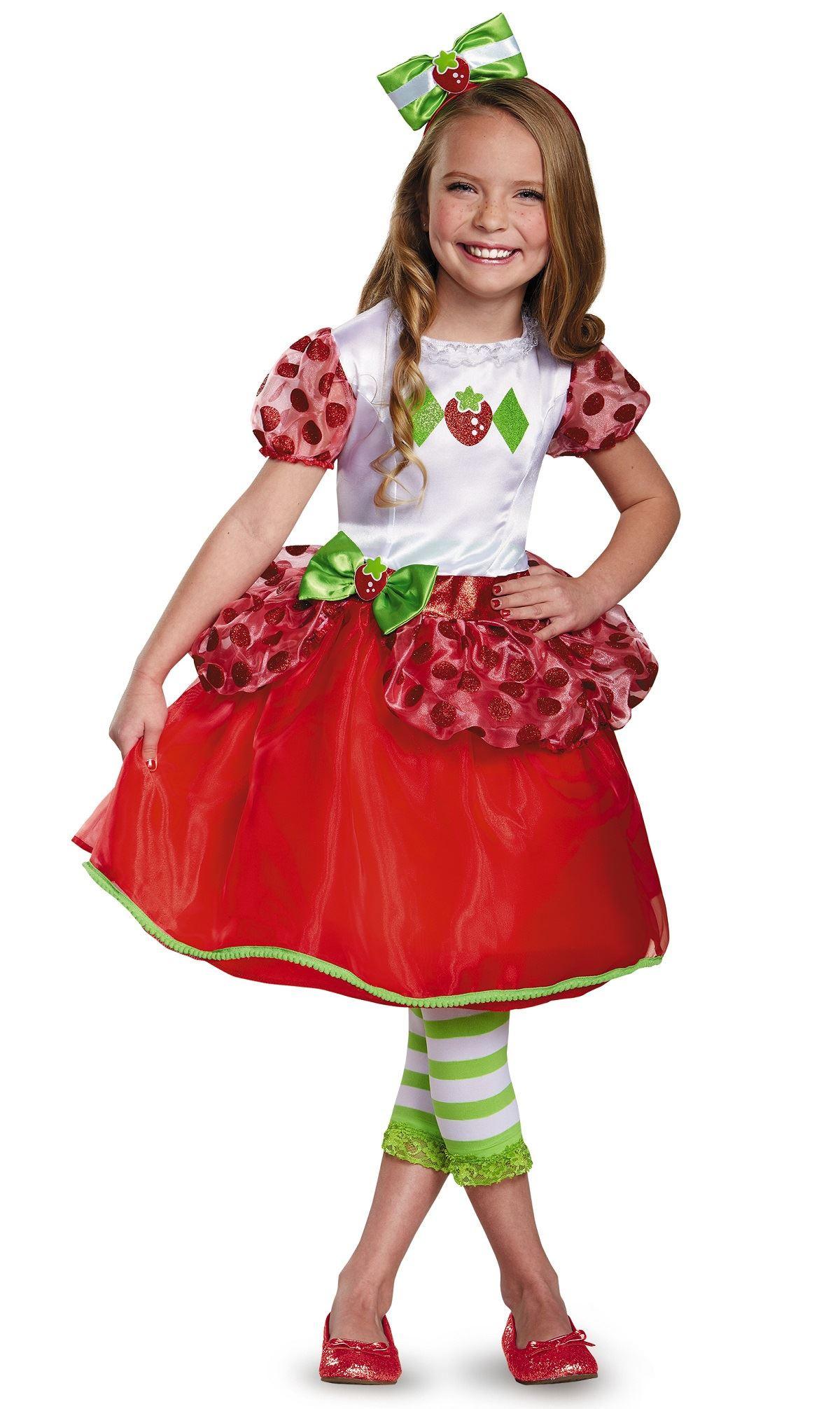Strawberry Shortcake Haloween Costume  Kids Strawberry Shortcake Girls Costume $37 99