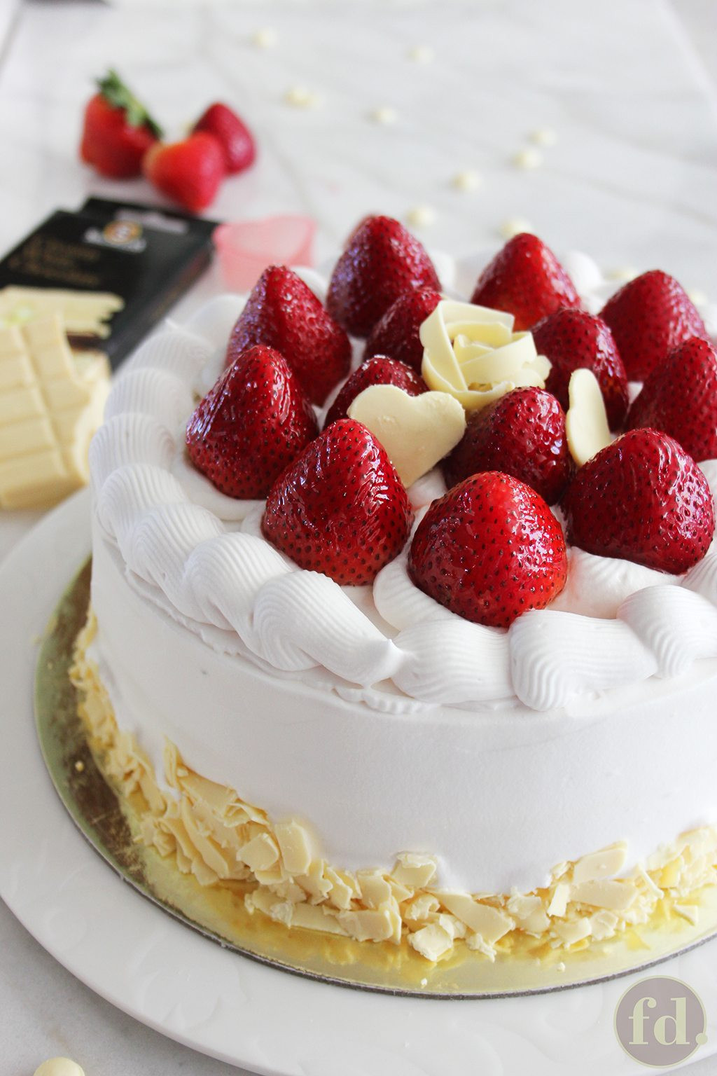 Strawberry Shortcake Videos  Delicious Japanese strawberry shortcake