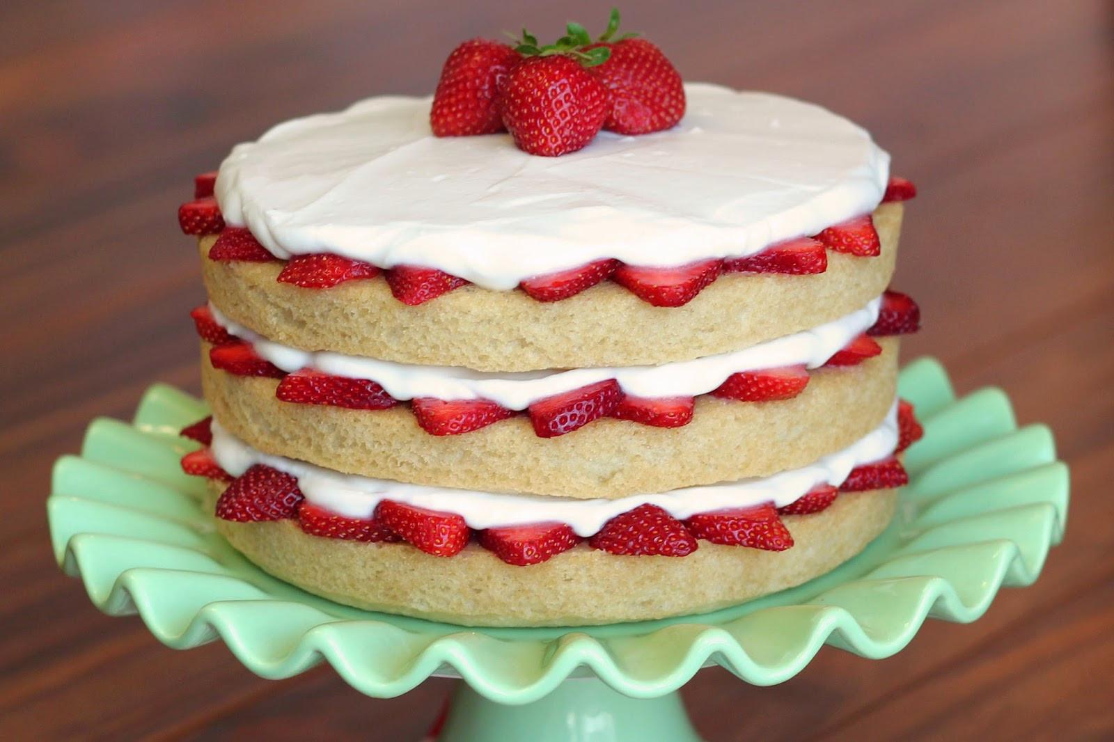 Strawberry Shortcake Videos  gluten free vegan strawberry shortcake Sarah Bakes