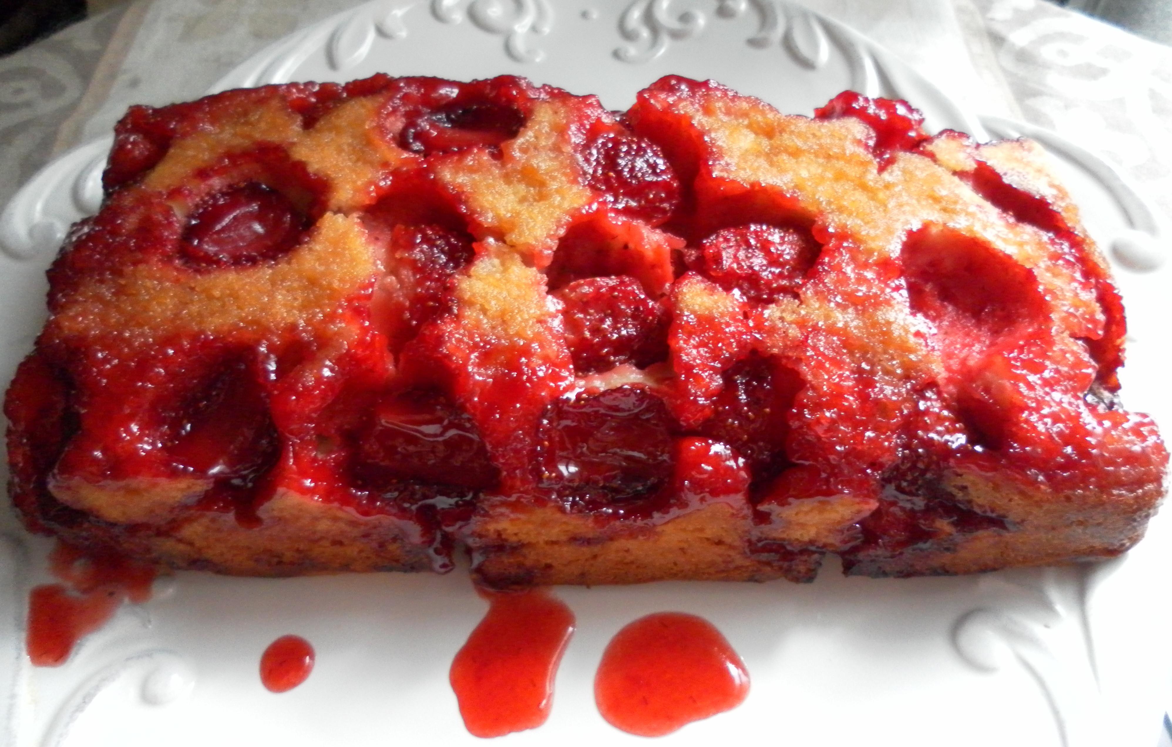 Strawberry Upside Down Cake  Strawberry Upside Down Cake