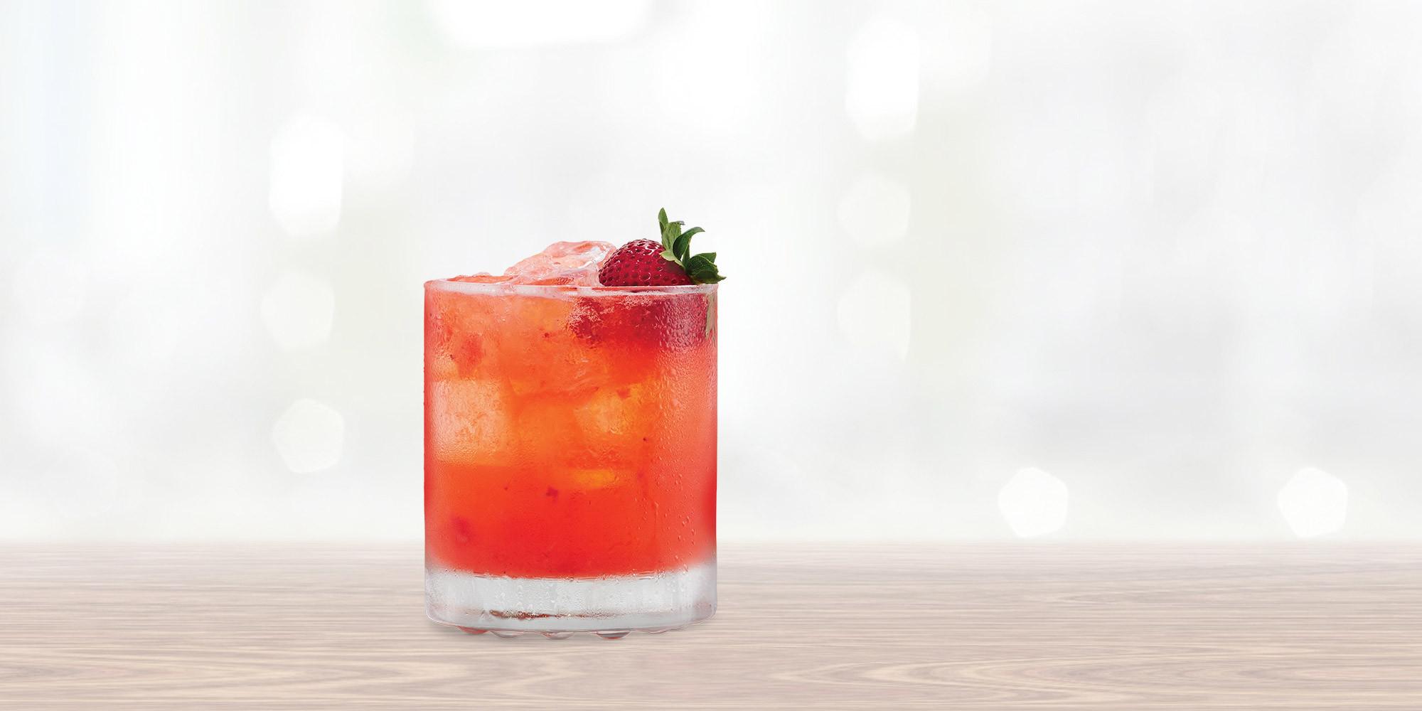 Strawberry Vodka Drinks  Strawberry Smash with SMIRNOFF Strawberry Recipe