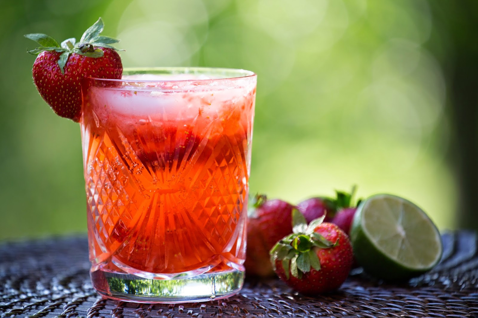 Strawberry Vodka Drinks  Straight to the Hips Baby Strawberry Vodka Cocktail