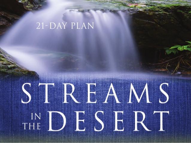 Stream In The Dessert  Stream In The Desert Bible Reading Plan L B Cowman