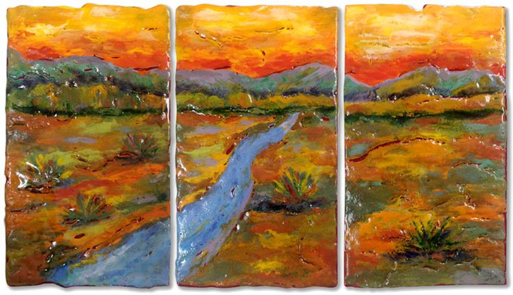 Stream In The Dessert  855 best images about Fused glass panels on Pinterest