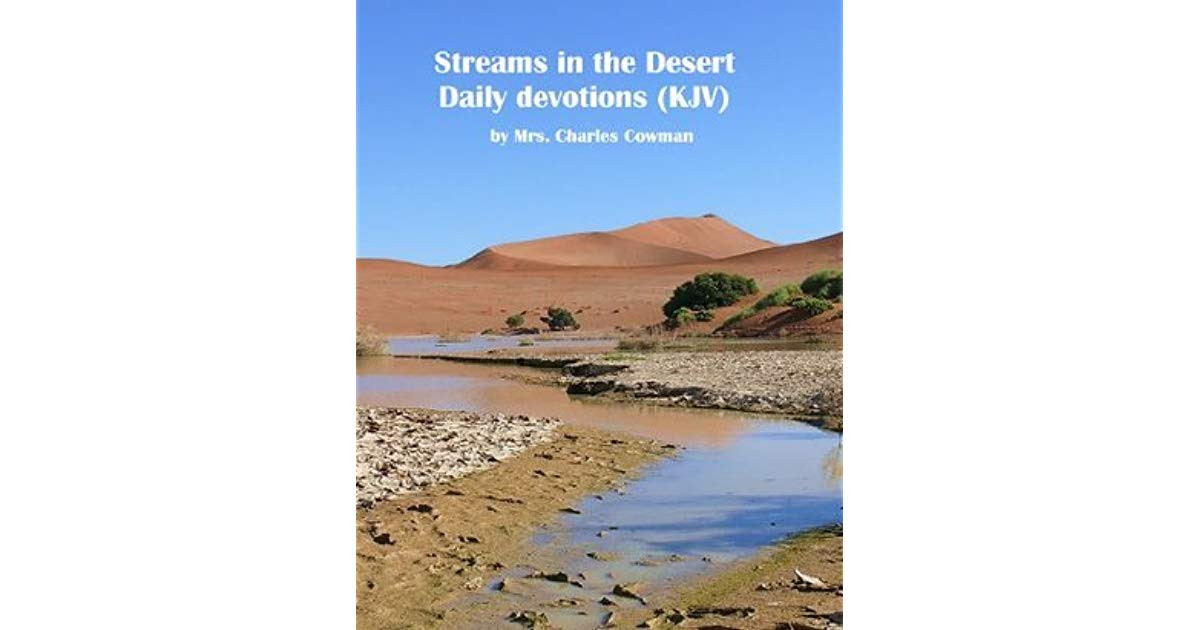 Stream In The Dessert  Streams in the Desert by Mrs Charles E Cowman — Reviews
