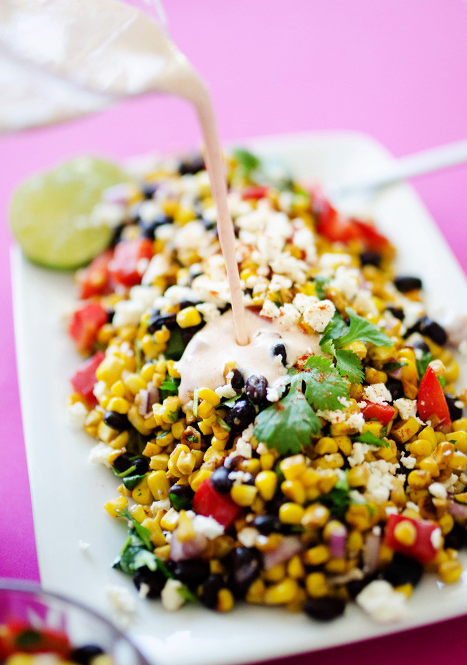 Street Corn Salad  Live Eat Learn Easy ve arian recipes one ingre nt
