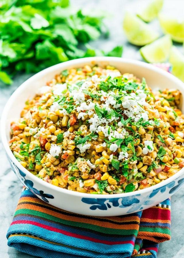 Street Corn Salad  Mexican Street Corn Salad Jo Cooks