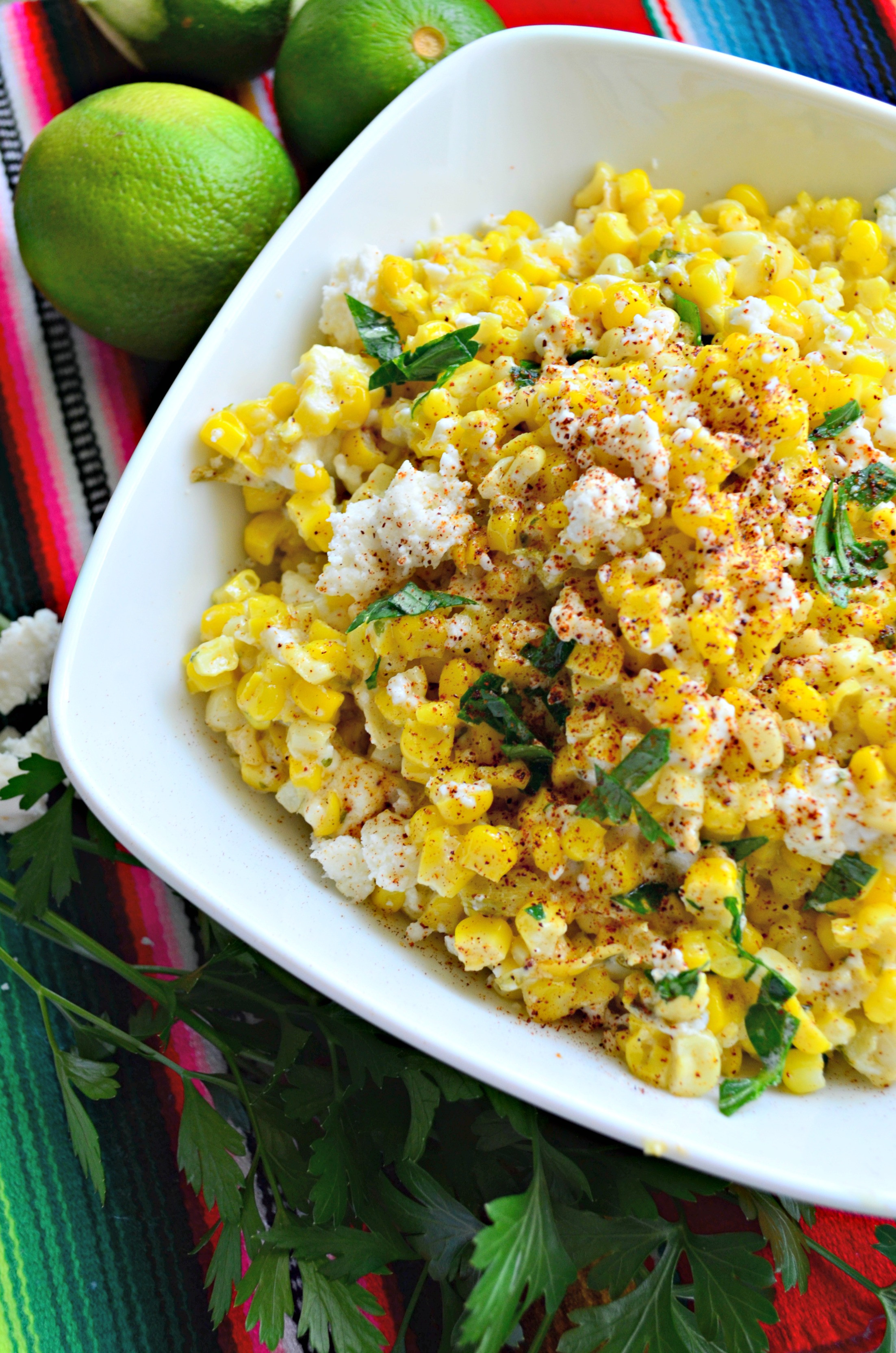 Street Corn Salad  Mexican Street Corn Salad Katie s Cucina