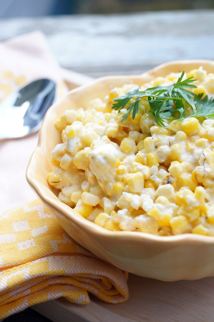 Street Corn Salad  Grilled Mexican Street Corn Salad
