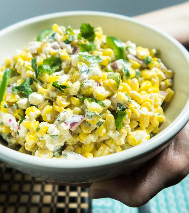 Street Corn Salad  Mexican Street Corn Salad