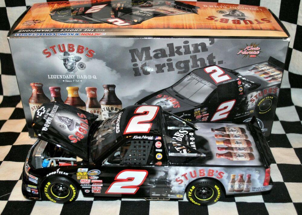 Stubb'S Bbq Sauce  KEVIN HARVICK STUBB S BBQ AUTOGRAPHED SIGNED 1 24 NASCAR