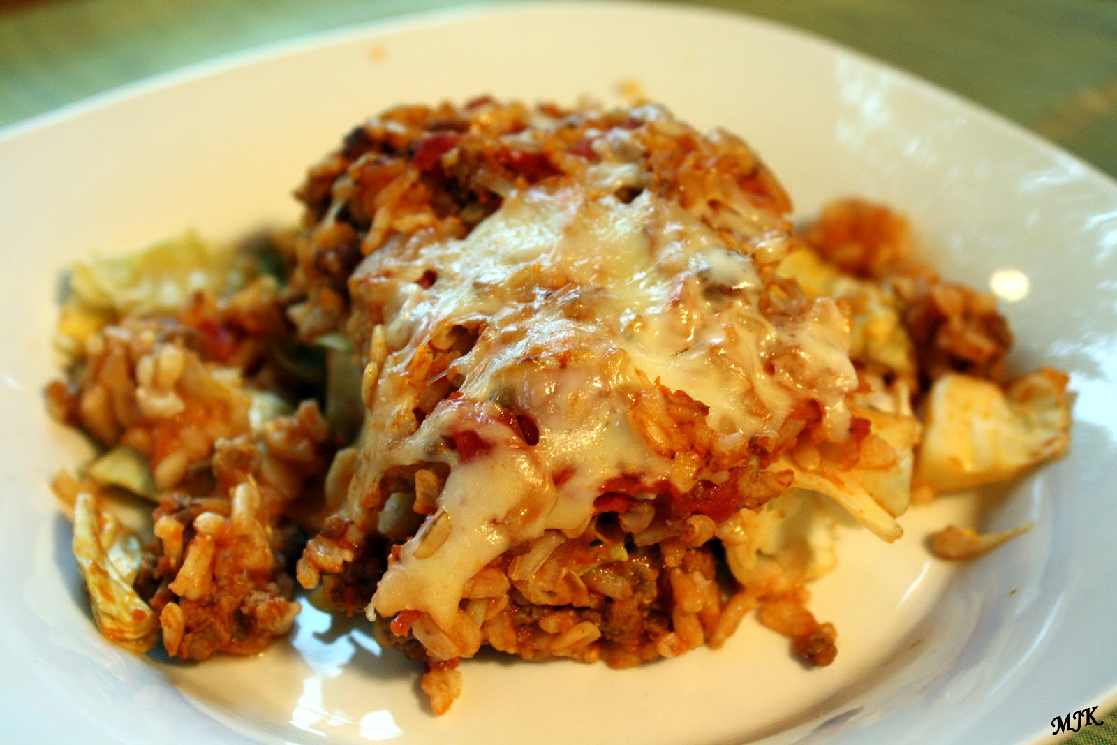 Stuffed Cabbage Casserole  Melissa s Cuisine Stuffed Cabbage Casserole