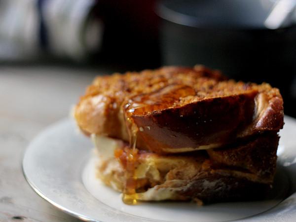 Stuffed French Toast Casserole  Cranberry Cream Cheese Stuffed French Toast Casserole