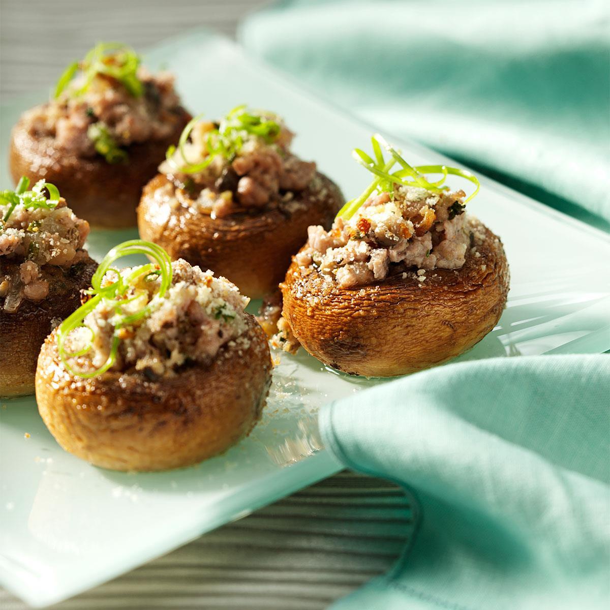 Stuffed Mushroom Appetizer Recipes  stuffed mushroom appetizer