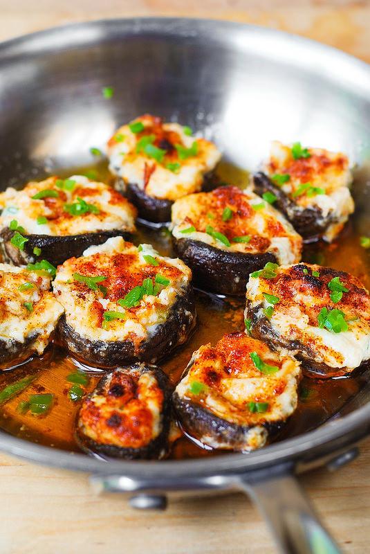 Stuffed Mushroom Appetizer Recipes  Bacon and Cheese Stuffed Mushrooms Julia s Album