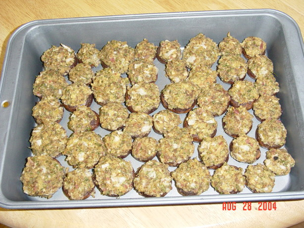 Stuffed Mushroom Caps  Stuffed Mushroom Caps Recipe Food