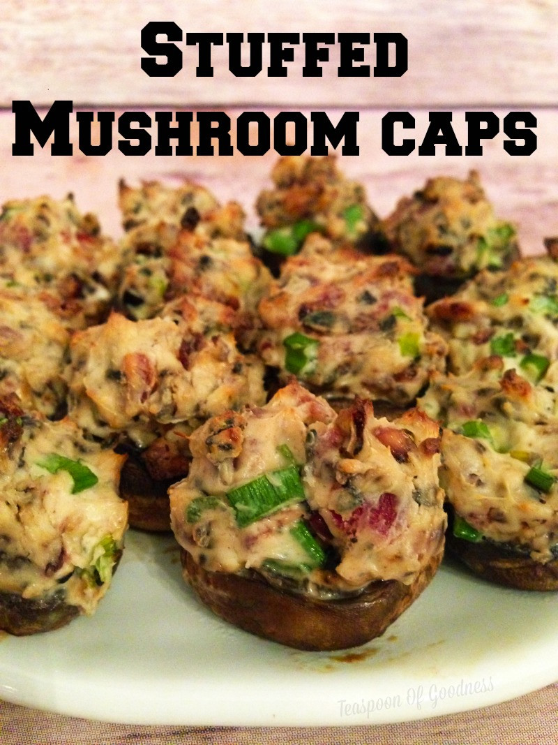 Stuffed Mushroom Caps  stuffed mushroom caps recipe