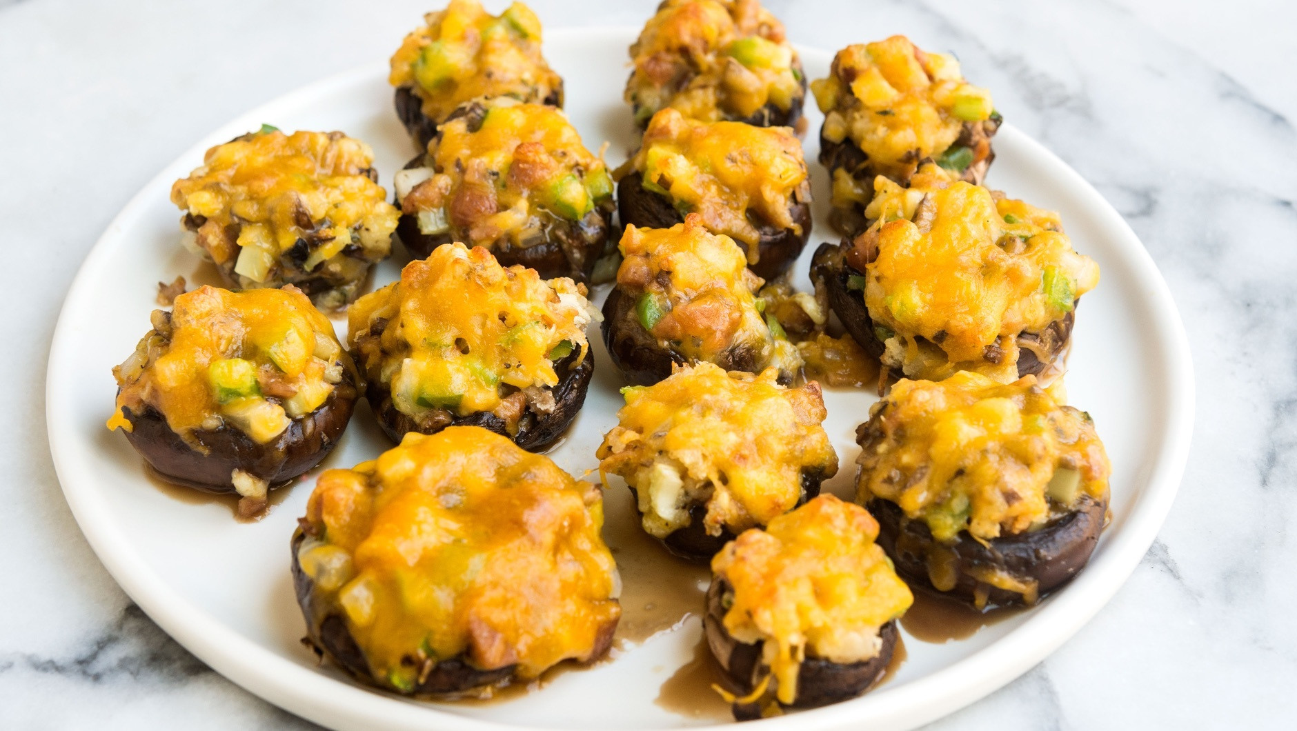Stuffed Mushroom Caps  Stuffed Mushroom Caps Recipe What s for Dinner