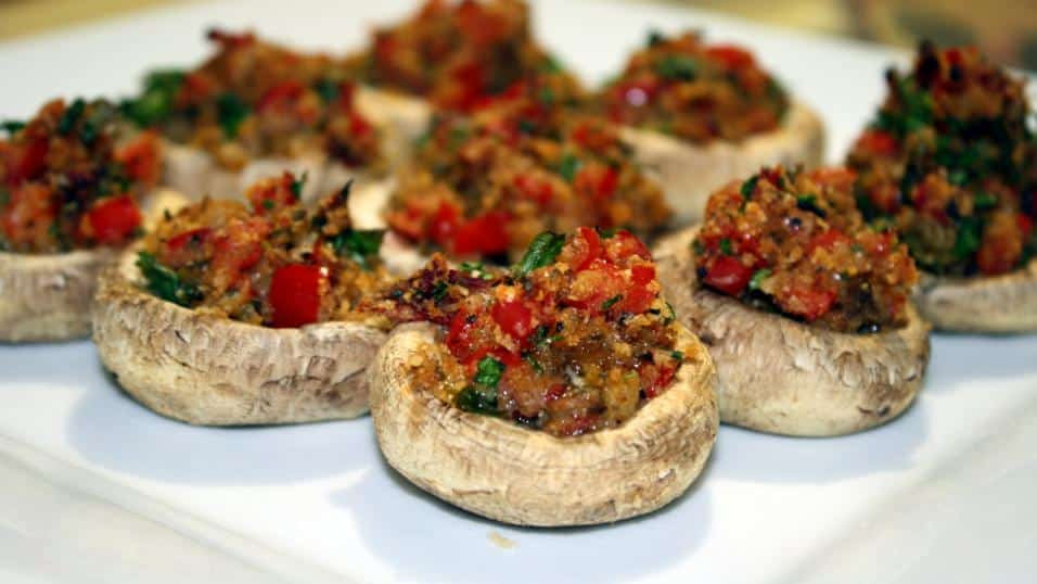 Stuffed Mushrooms Vegetarian  Food Porn Game Edition Page 379 Games Forums and