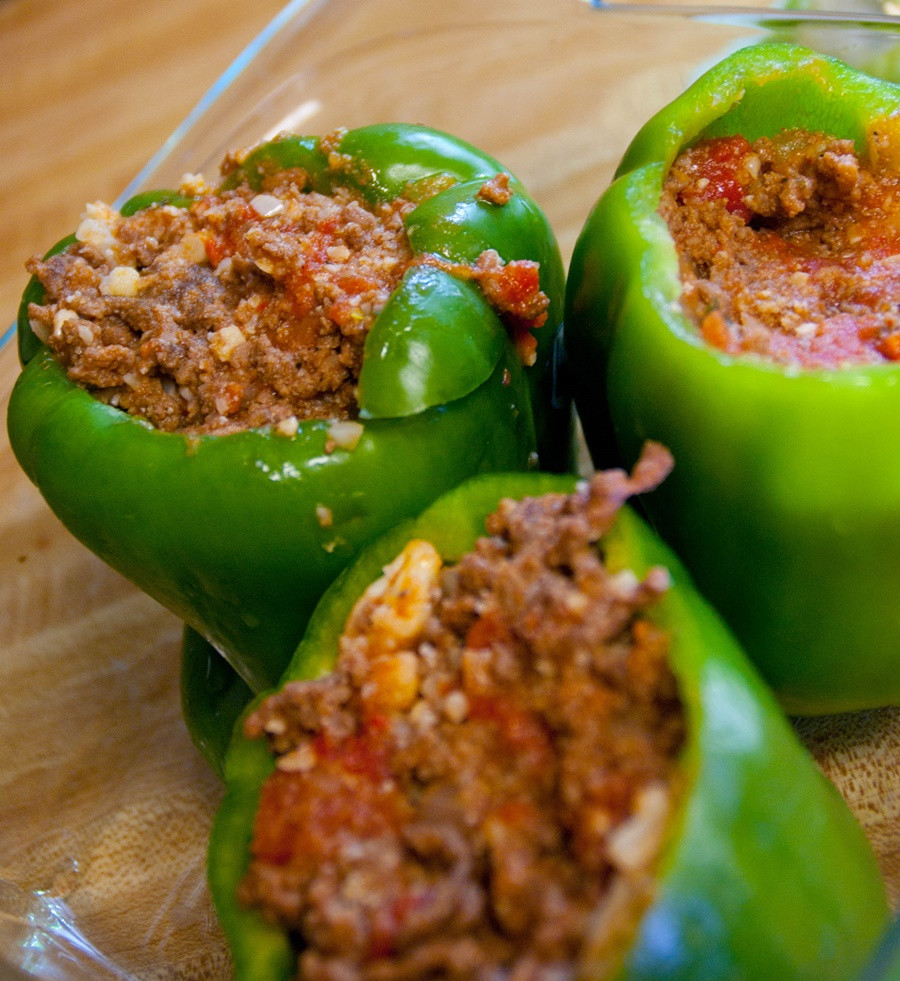 Stuffed Peppers With Ground Beef  Beef Stuffed Peppers XciteFun
