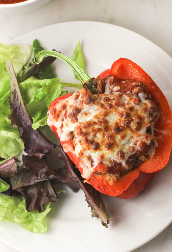 Stuffed Peppers With Ground Turkey  Clean Eating Turkey Quinoa Stuffed Peppers citronlimette