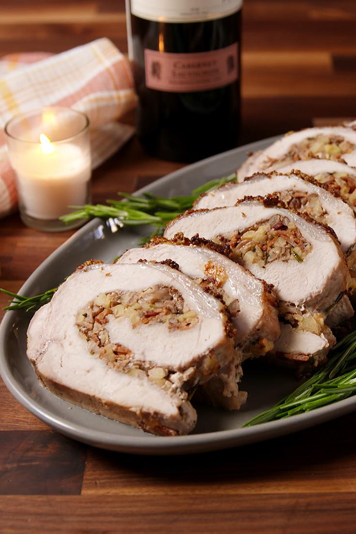 Stuffed Pork Loin  Best Stuffed Pork Loin Recipe How to Make Stuffed Pork Loin