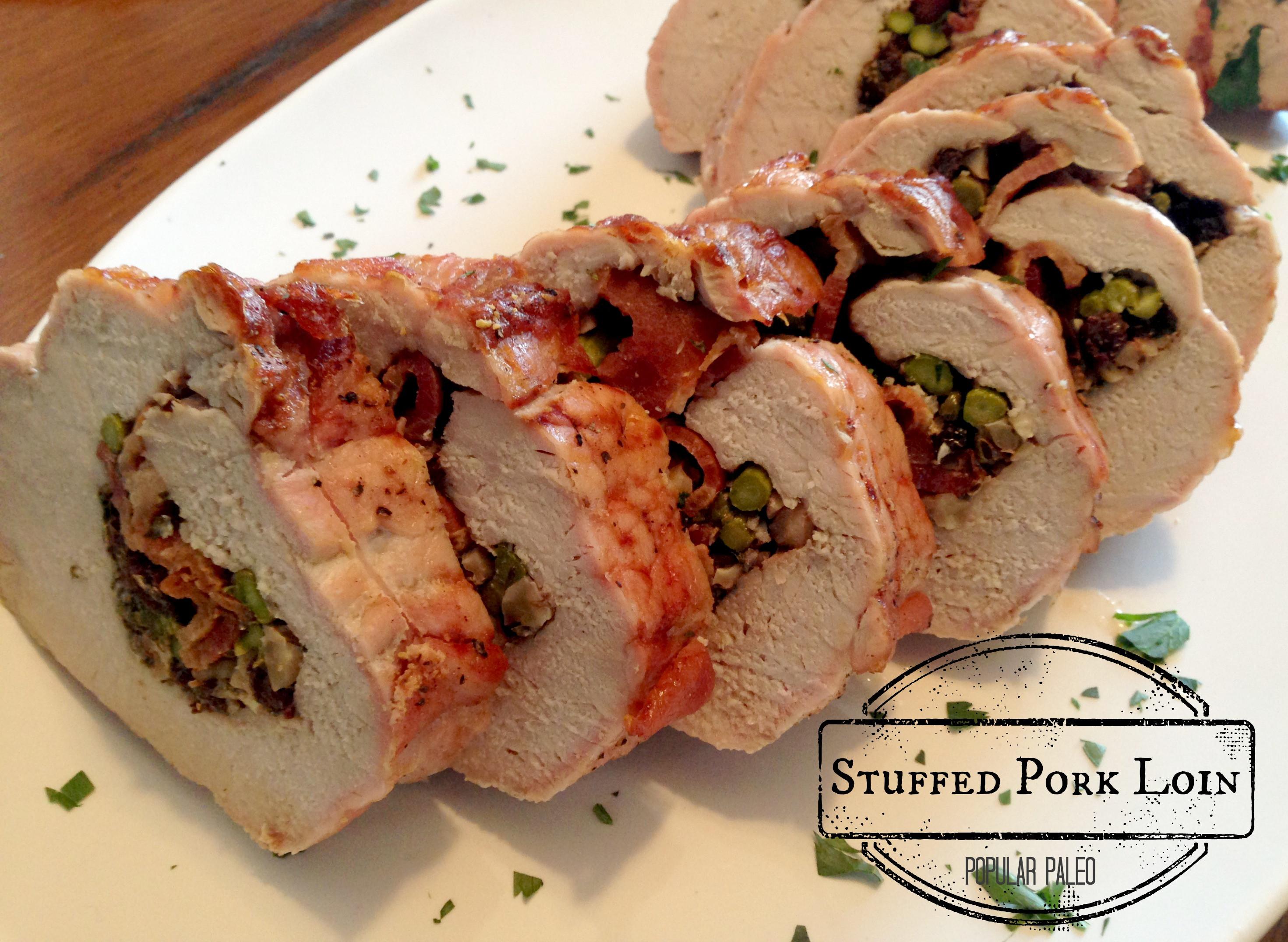Stuffed Pork Loin  Stuffed Pork Loin