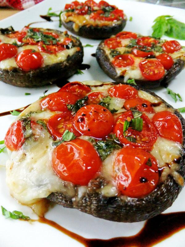 Stuffed Portabella Mushroom Recipe  baked portobello mushroom recipes in oven
