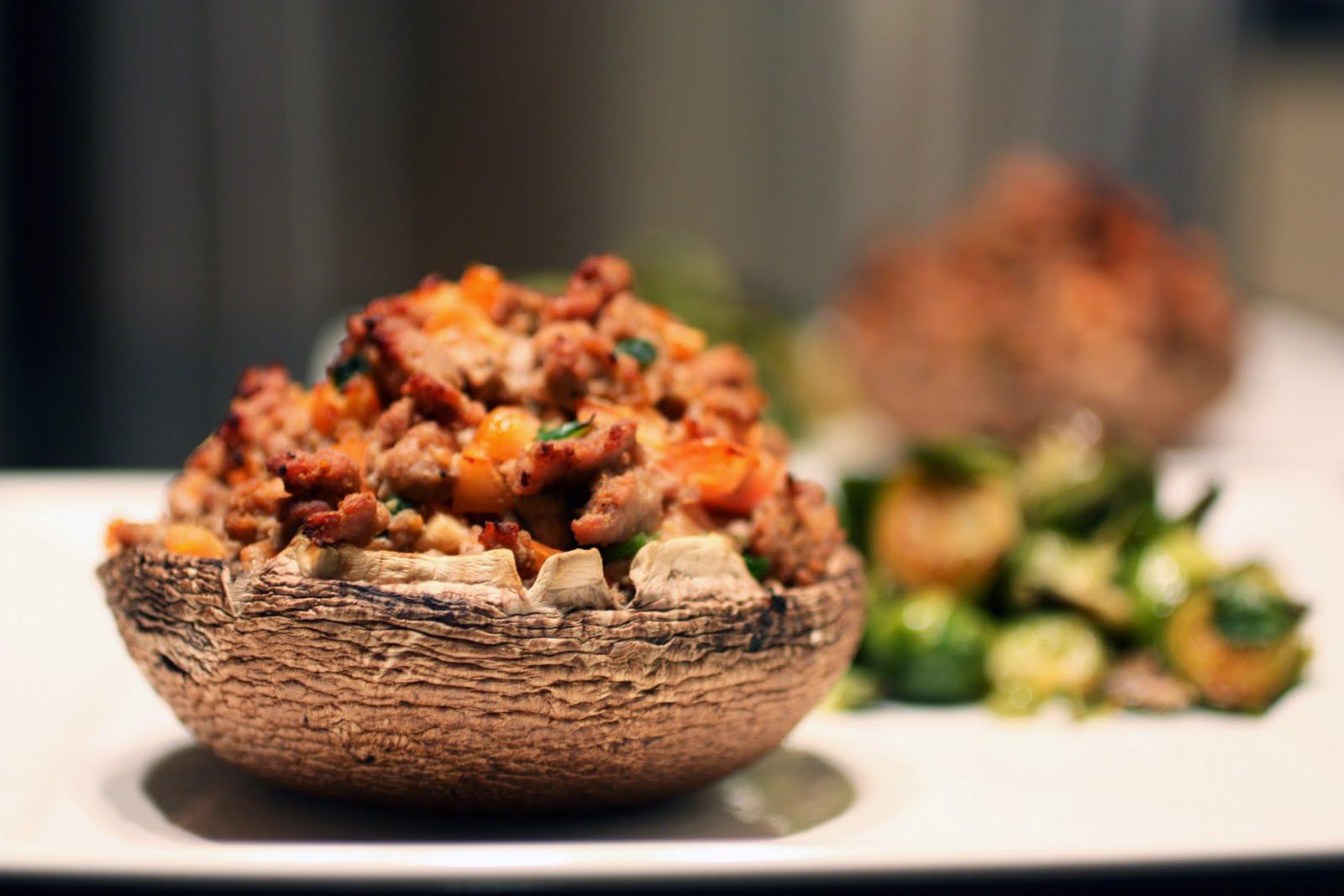Stuffed Portabella Mushrooms  Stuffed Portabella Mushroom Caps Primal Palate