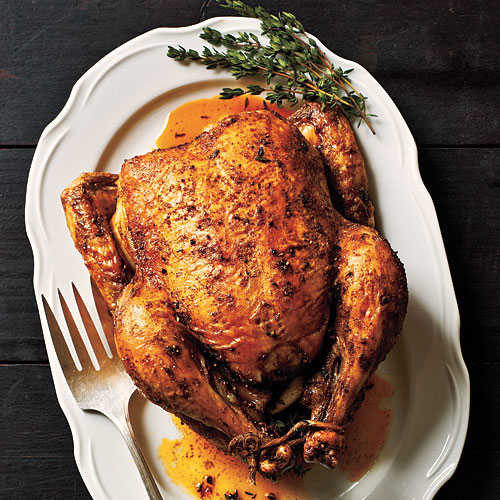 Stuffed Whole Chicken  How To Roast Chicken Cooking Light