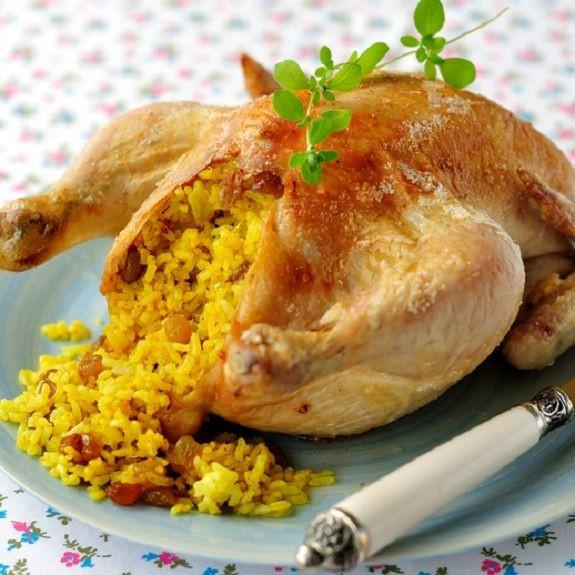 Stuffed Whole Chicken  Best 25 Stuffed whole chicken ideas on Pinterest