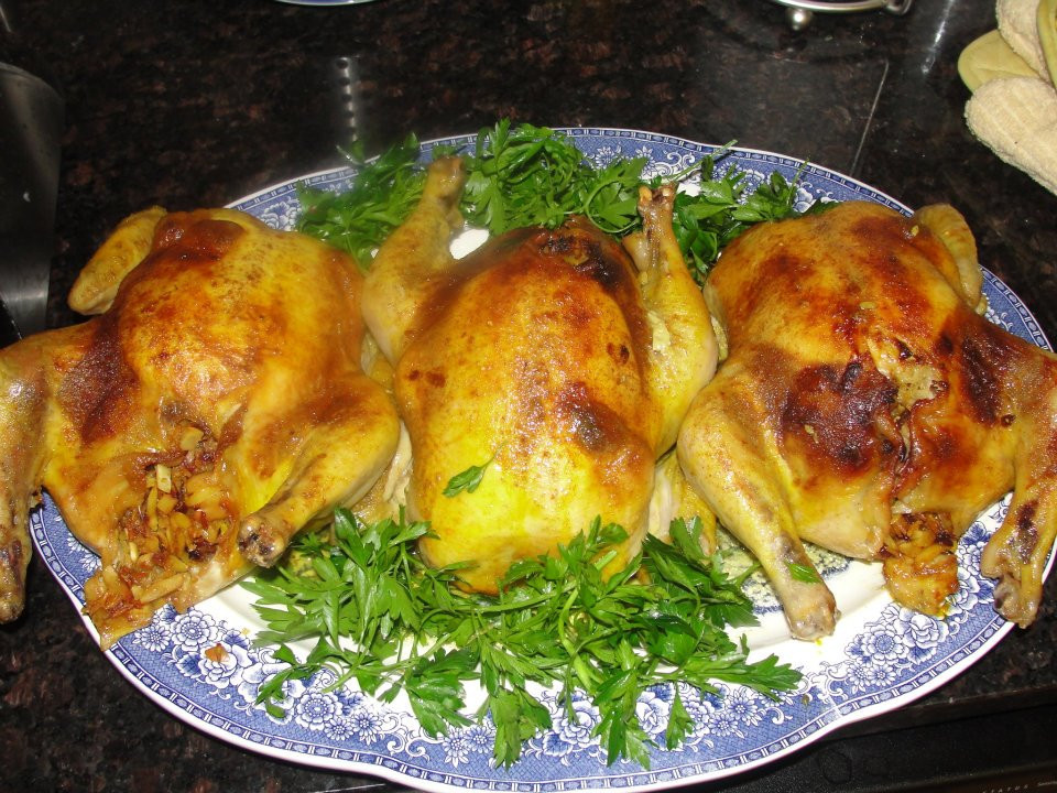 Stuffed Whole Chicken  Persian cooking and more Stuffed whole chicken