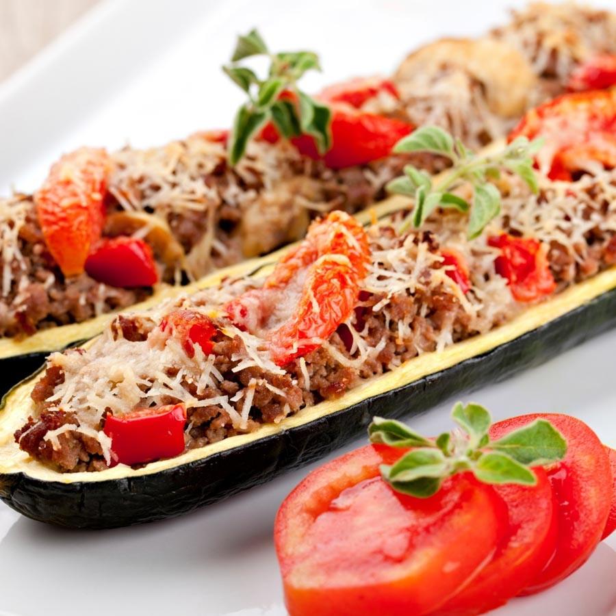 Stuffed Zucchini Ground Beef  Cook Recipe Finder