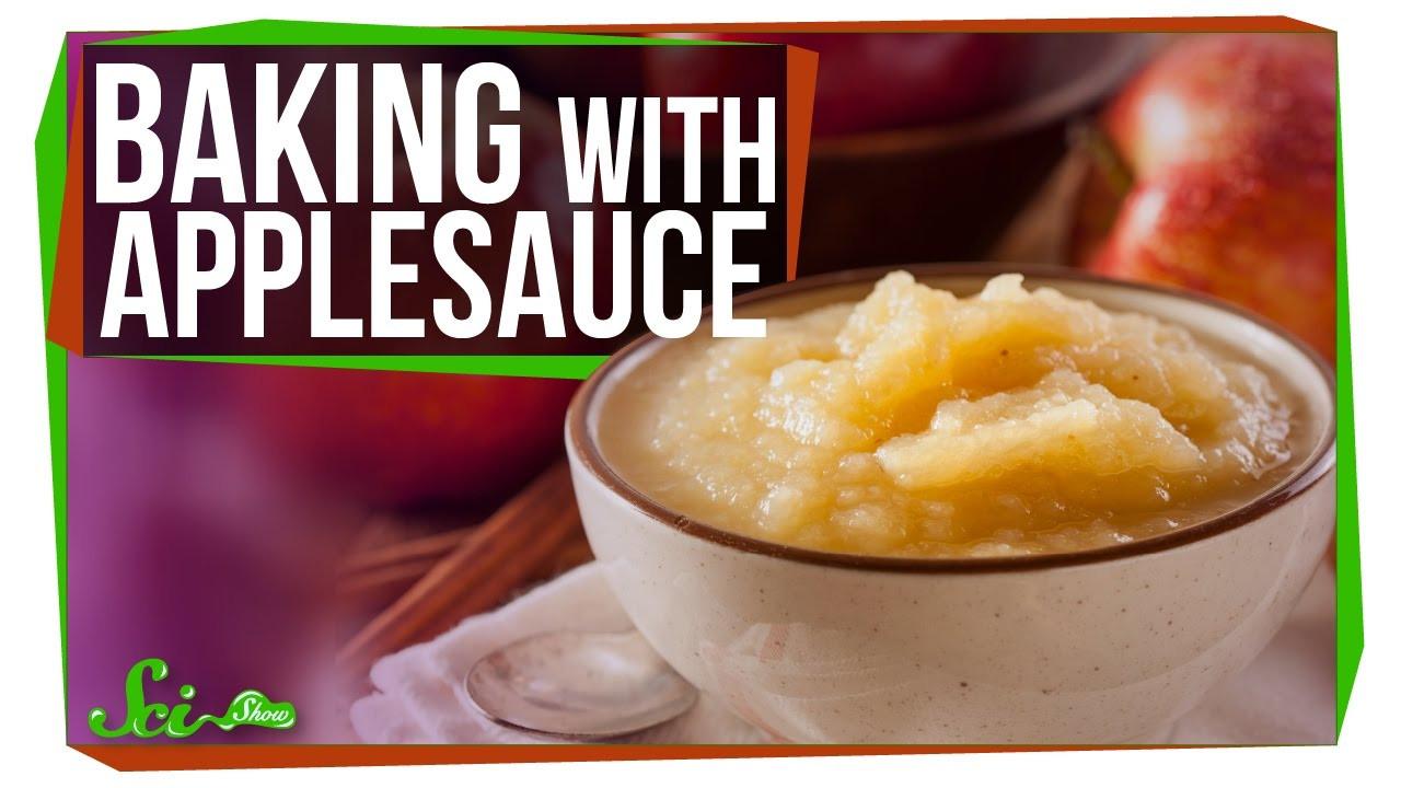 Substitute Applesauce For Eggs  applesauce substitute for eggs
