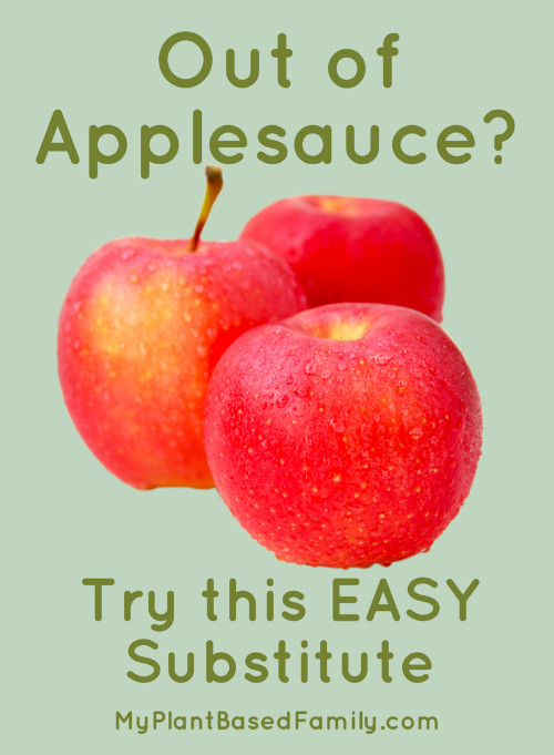 Substitute For Applesauce  applesauce Archives My Plant Based Family