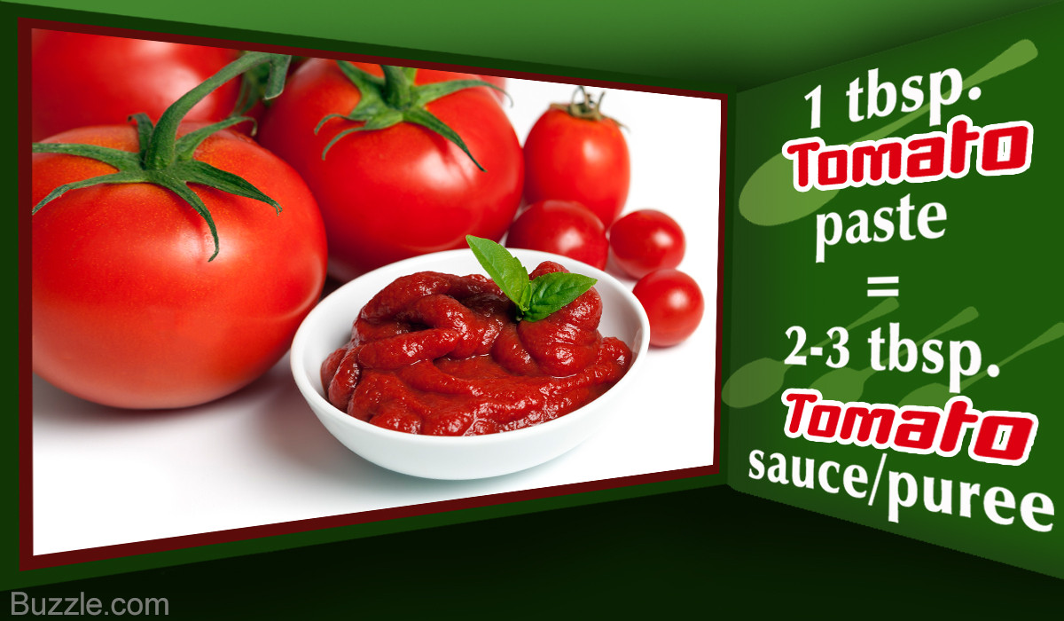 Substitute For Tomato Sauce  tomato sauce substitute paste