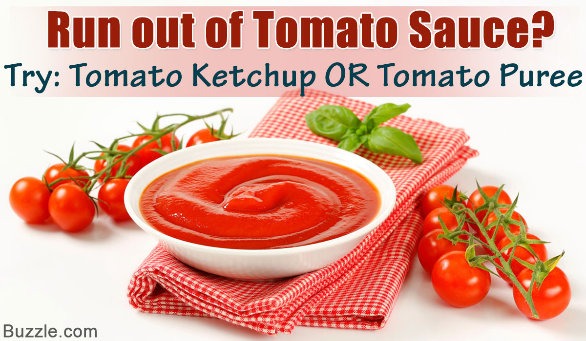 Substitute For Tomato Sauce  Time saving Tomato Sauce Substitutes for Last minute