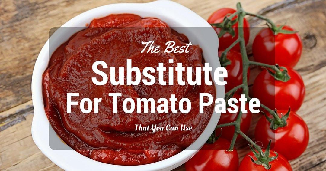 Substitute Tomato Paste For Tomato Sauce  The Best Substitute For Tomato Paste That You Can Use