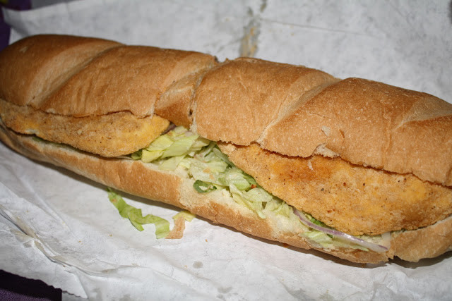 "Subway 6"" Oven Roasted Chicken  An Immovable Feast Subway"