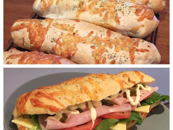 Subway Italian Bread  Clone of Subway Bread Italian Herb & Cheese by Lillozza