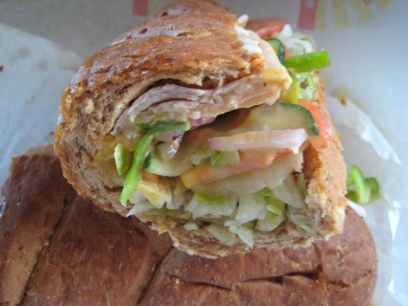 Subway Turkey Sandwiches  Review Subway Turkey Jalapeno Melt