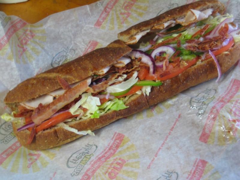 Subway Turkey Sandwiches  Review Subway Turkey BLT