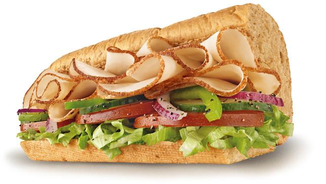 Subway Turkey Sandwiches  Subway Curacao Turkey