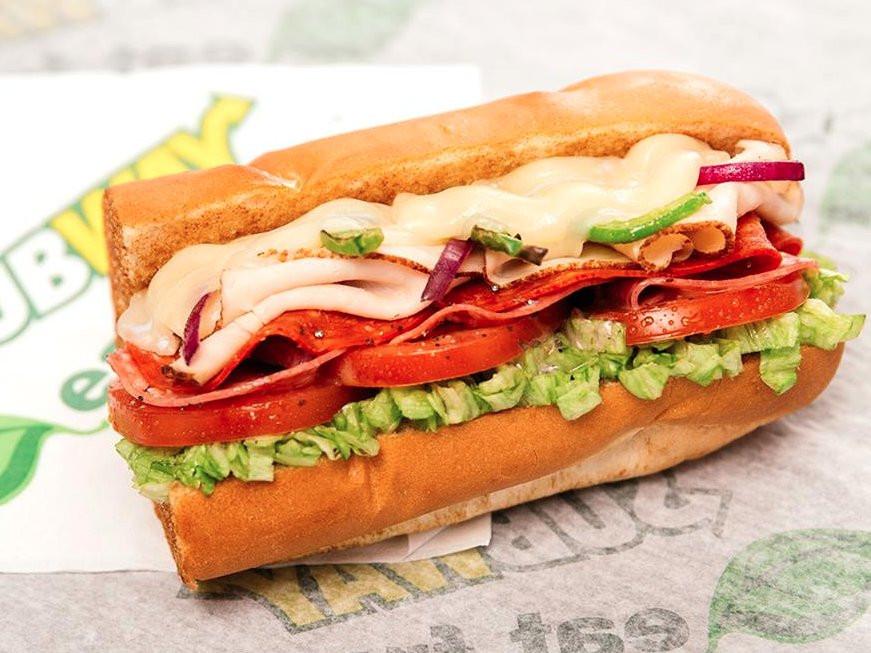 Subway Turkey Sandwiches  Subway sales are declining Business Insider