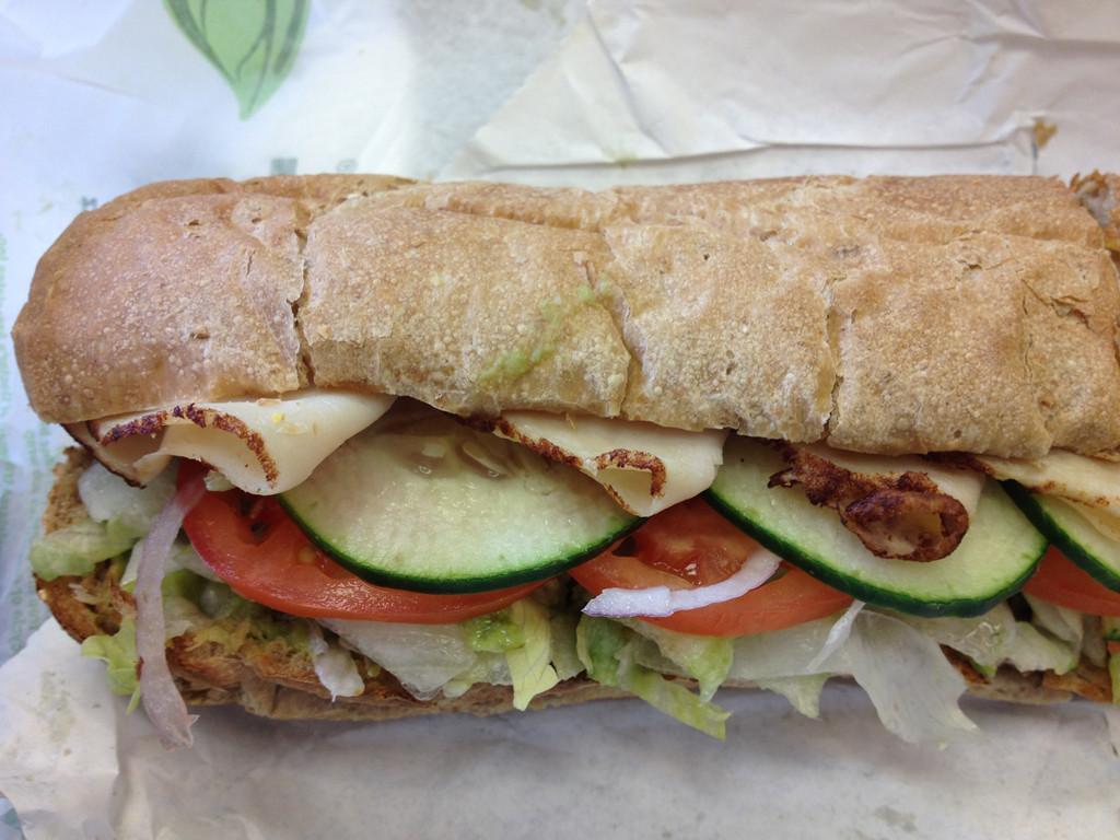 Subway Turkey Sandwiches  turkey avocado sandwich subway