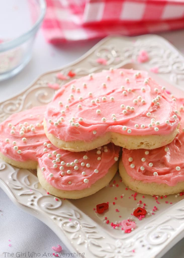 Sugar Cookies Soft  Soft and Fluffy Sugar Cookies The Girl Who Ate Everything