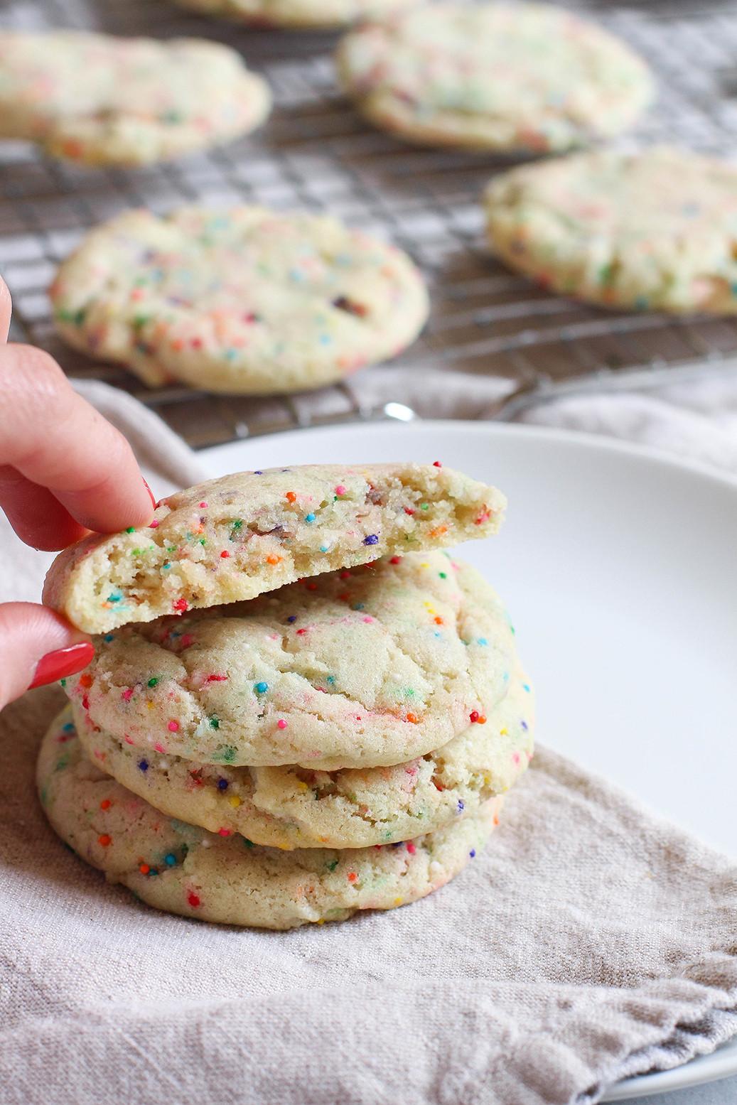 Sugar Cookies Soft  Soft Baked Vegan Sugar Cookies