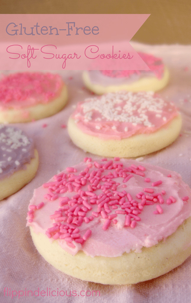 Sugar Cookies Soft  Gluten Free Soft Frosted Sugar Cookies